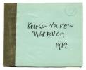 Cover Kriegs-Wolken Tagebuch