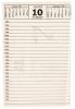 Tage- und Notizbücher, Kalender